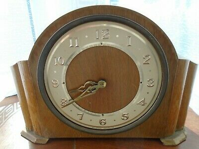 Westclox Mantel Clock Made In Scotland