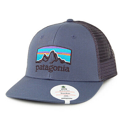 0eb79061 PATAGONIA HATS WORLD Trout Brook Fishstitch Trucker Cap - Blue ...