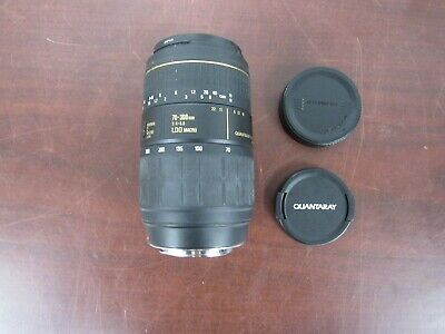 Quantaray 70-300mm LDO Macro 1:4 - 5.6 TECH-10 mx AF Lens [3c]
