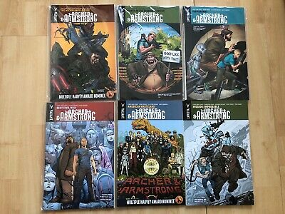 Archer & Armstrong Volume 2 Valiant Trade Paperback #1-6