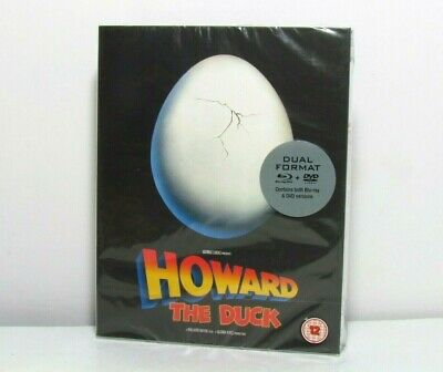Howard The Duck Blu-Ray 101 Black Label Limited Edition Slip Box Uk New