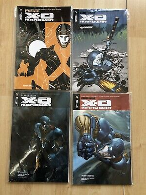 X-O Manowar Volume 2 Valiant Trade Paperback #1-4