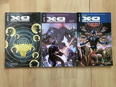 X-O Manowar volume 2 Valiant Tpb #8-10