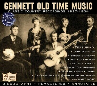 Various Artists - Gennett Old Time Music: Classic Country Recordings 1927-1934 [