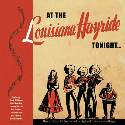 Various Artists - At The Louisiana Hayride Tonight / Various Artists [New CD] Wi