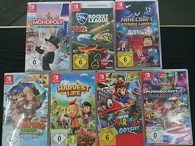 Nintendo Switch Spiele (Minecraft, MotoGP, Rocket League, Zelda, Mario ...)