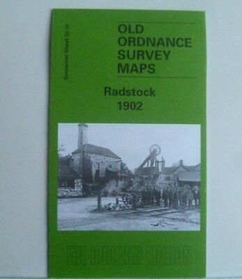 Old Ordnance Survey Detailed Maps Radstock Somerset 1902 Godfrey Edition New