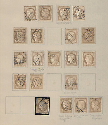 N°56 Lot Obliterations Timbre Stamp Briefmarken
