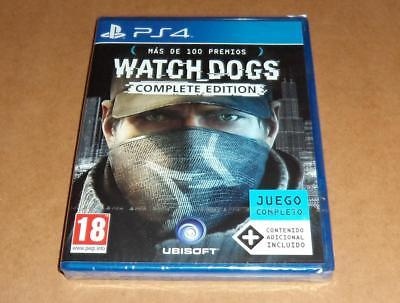 Watch Dogs : Complete Edition para Sony Playstation 4 / PS4 ,a estrenar, Pal
