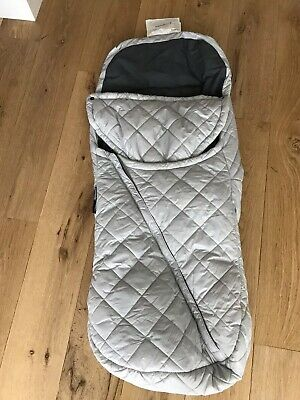 UPPAbaby Vista Or Cruz Footmuff Ganoosh In Mica Silver