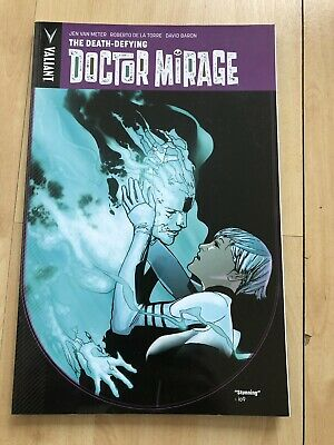 The Death Defying Doctor Mirage Trade Paperback Tpb Valiant