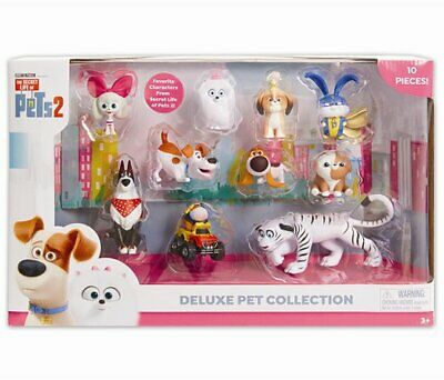 The Secret Life of Pets 2 DELUXE Pet COLLECTION 10 Figure Set
