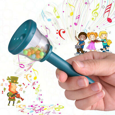 Eco-Friendly Plastic Bell Handbell Musical Toy for Baby Toddlers Kids K0M7