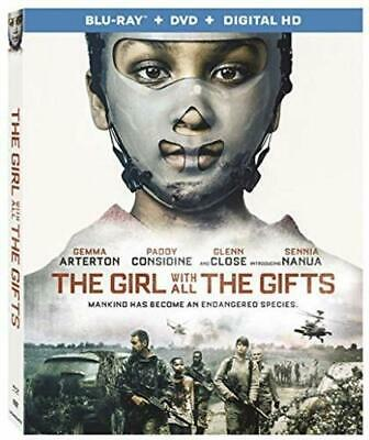 The Girl With All the Gifts (Blu-ray Disc + Digital HD, 2017) w/slip, No DVD