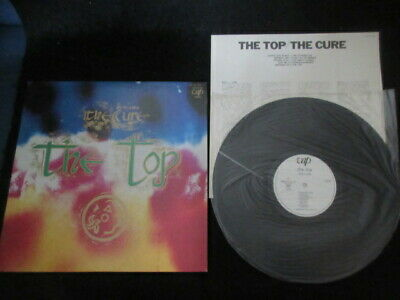 Cure The Top Japan Promo White Label Vinyl LP in 1984 Robert Smith Goth