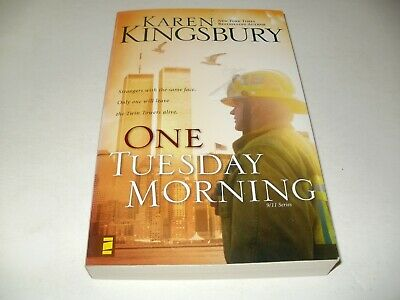 Karen Kingsbury Softcover Book - One Tuesday Morning - 911 Series