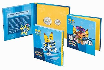 2017 Australia Bananas in Pyjamas 25 years - Coloured Frosted UNC Two Coin Set