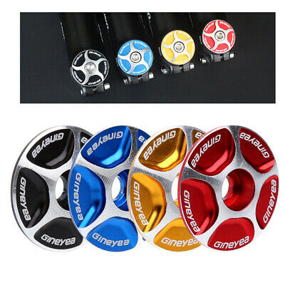 1pc aluminum bicycle headset caps mountain bike cycling headset stem top coverJB