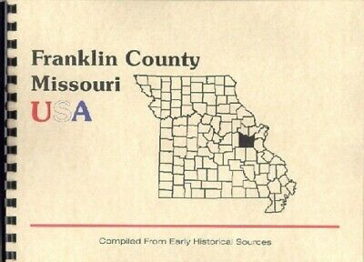 MO FRANKLIN County Missouri History Biography Book 1889 PACIFIC~GOODSPEED