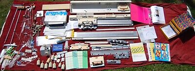 brother kh-864 & kr-850 knitting machine & ribber + Accessories Job Lot