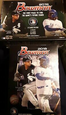 2019 Bowman Baseball Unopened Factory Sealed Blaster Boxes - Lot Of 2