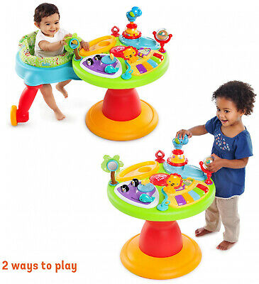 Around We Go Activity Center 3-in-1 Unisex Baby Toddler Fun Zoo Walker Station