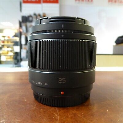 Used Panasonic Lumix G 25mm f1.7 lens - 1 YEAR GTEE