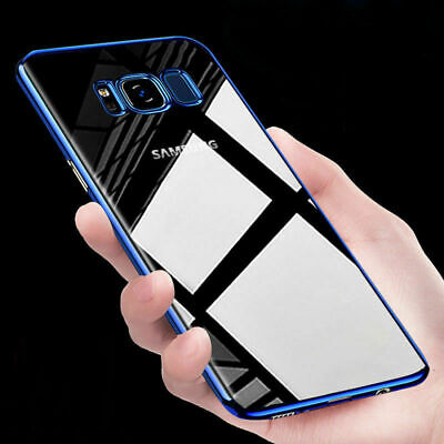 For Samsung Galaxy S8 Luxury Slim Shockproof Silicone Case Cover