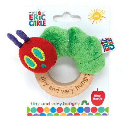 The World of Eric Carle The Very Hungry Caterpillar Tiny Caterpillar Ring Rattle