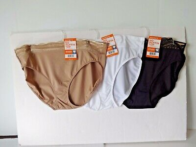 c1110c52c0e Warners lace No Muffin Top hi cut panties size 8 XL 3 pairs style RT740