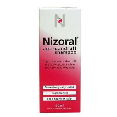 Nizoral Anti Dandruff Shampoo 60ml - Ketoconazole Treatments