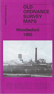 Old Ordnance Survey Map Woodlesford 1905