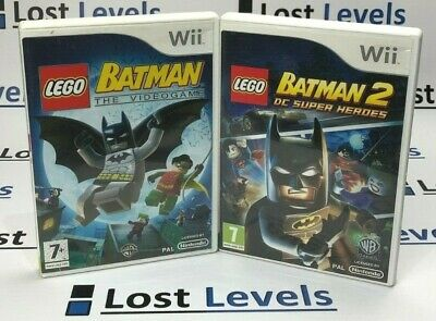 Wii - Lego Batman Series - Same Day Dispatched - Boxed - VGC - *Multi Listing*