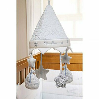 Silver Cross Cot Mobile Vintage Blue SX1555.BL1 Baby Infant Accessory Melody