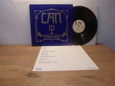 CAN FUTURE DAYS LP 1973 Orig RELIEF COVER TOP KRAUTROCK