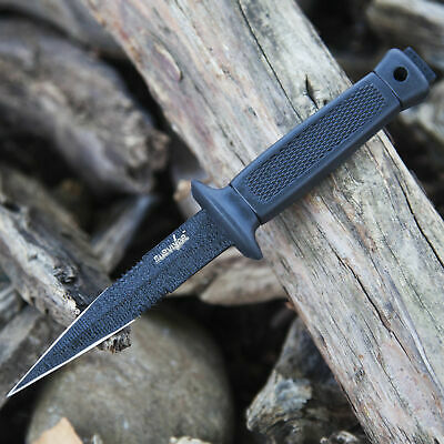 "6.5"" SURVIVAL HUNTING FIXED BLADE Tactical Combat Military Knife w/ SHEATH BOWIE"