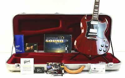 2016 Gibson SG Standard HP Electric Guitar - Cherry w/Deluxe Gibson Case