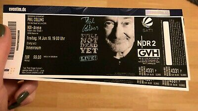 Phil Collins, 2 Tickets, Hannover, 14.06.2019
