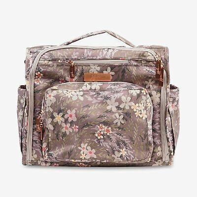 JuJuBe BFF Convertible Messenger Backpack Baby Diaper Bag Sakura at Dusk