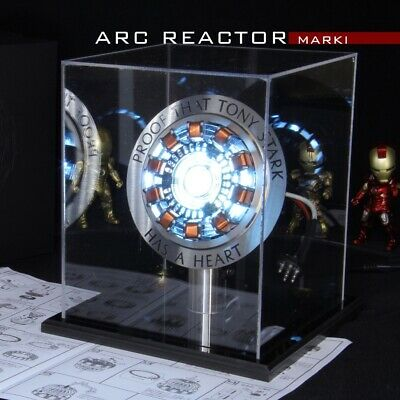 Proof that Tony Stark has a heart LED Lamp Light Arc MK2 Iron Man Arc Reactor