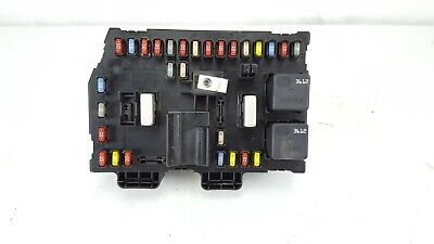 2007-2009 chevrolet equinox 3 4l interior under dash cabin fuse relay box  oem
