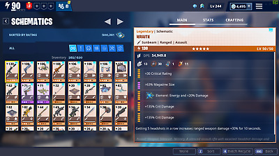 Fortnite account PL90+ w/ Limited Edition, PVE/STW focused