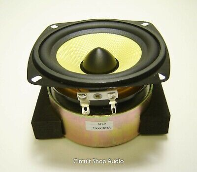 "SLS QG-5000 Shielded Woofer / 4"" Speaker / 8 Ohm / 20060303A"