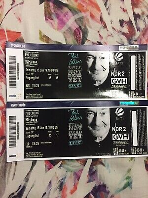 Phil Collins 2x Tickets 15.06. Hannover 19.00