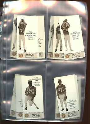 1980 Valley National Bank Phoenix Giants Complete Set of 26 NM