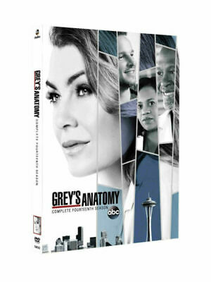 Grey's Anatomy Season 14 Fourteen The Complete DVD Set New Sealed Free Shipping