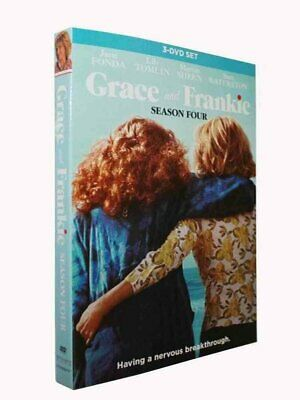 Grace and Frankie Season 4 Four The Complete Fourth DVD Set New Sealed