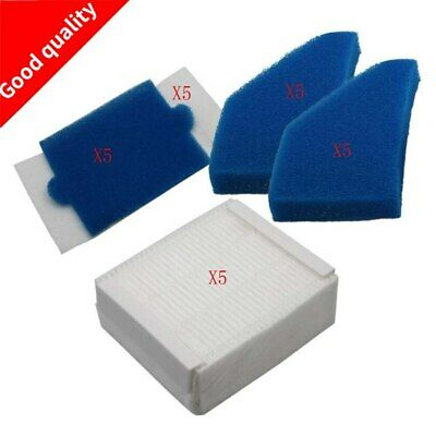 5 set Vacuum Cleaner Foam Filters filter kits for Thomas 787241, 787 241, 99