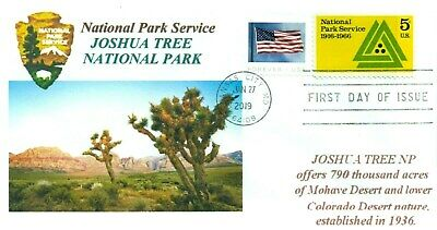 JOSHUA TREE NATIONAL PARK California Color Cachet National Parks First Day PM