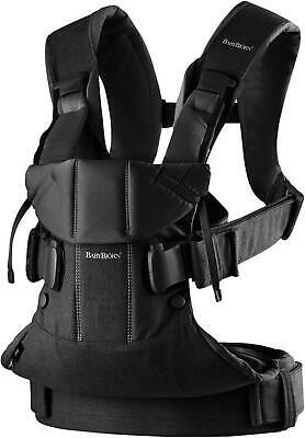 Baby Bjorn Baby Carrier One (Black Cotton Mix) (BabyBjorn) Free Shipping!
